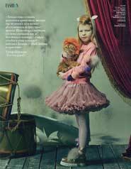 Модели PK в новом номере журнала InStyle Kids